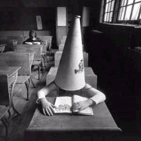 Dunce cap for wrong choices